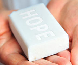 Soap for hope